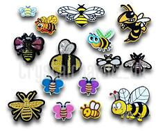 Bumble Honey Bee Iron / Sew On Embroidered Applique Motif *Buy1 get1 half price*