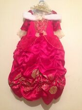 NEW Disney Belle Beauty & the Beast fancy dress costume TIARA  4 5 6 7 8 9