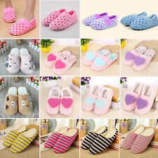 Winter Warm Indoor Anti-slip Shoes Slippers Casual Home Soft Plush Flats Unisex