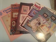 CROSS STITCH Leisure Arts & Others Patterns/Book/Leaflets Lot YOU CHOOSE