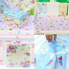 Pad Cotton Bedding Nappy Changing Infant Burp Baby Diaper Urine Mat Waterproof