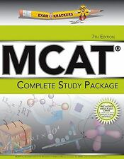 Examkrackers MCAT Complete Study Package by Jonathan Orsay, 7th Edition
