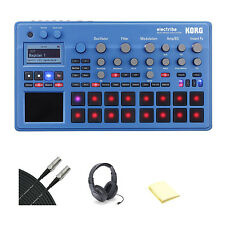 Korg ELECTRIBE2BL Electribe Synth in EMX Blue with Accessories