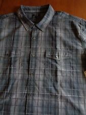 MEN'S BIG&TALL APT.9 100% COTTON SHORT SLEEVE CASUAL SHIRT