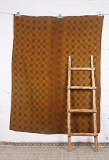 Cotton Blanket Ralli Indian Handmade Quilt Vintage Kantha Bedspread Throw Gudari