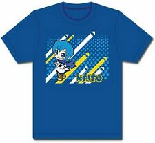 Vocaloid Hatsune Miku Kaito Anime Blue Adult T-Shirt - (2X-Large)