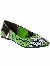 Iron Fist Green Zombie Stomper Flat Womens Shoe