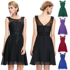 Short Mini Grad Bridesmaid Dresses Prom Formal Homecoming Cocktail Party Gown