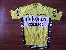 Brand New Team Del Tongo Colnago Leader cycling Jersey, Sarroni
