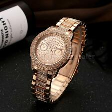 LVPAI Women Lady Rhinestone Bling Crystal Analog Quartz Dress Wrist Watch A6P1