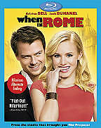 WHEN IN ROME **NEW FACTORY SEALED** Blu-ray SHIPS FREE USA