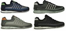 BRAND NEW MENS K.SWISS RINZLER LACE UP TRAINERS FOOTWEAR IN BLACK NAVY CHARCOAL