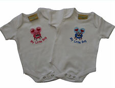 Super cute My Little Bug embroidered baby bodysuit