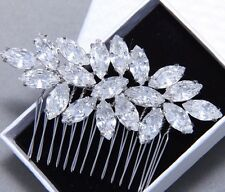 Bridal Hair Rhinestone Comb Wedding Hair Clip Hair Accessories Crystal Headpiece