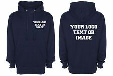 custom printed hoody hoodie sweatshirts workwear XXL personalised