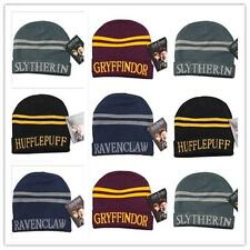 Hot Harry Potter Stripes Knit Hat Cap Beanie Preppy Costume Winter Girls Boys Y