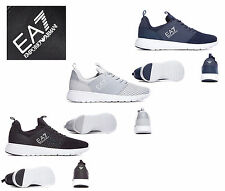 EA7 EMPORIO ARMANI SHOES MENS BOYS NEW RACER MESH ULTRA B TRAINERS 100% ORIGINAL