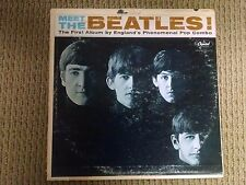 THE BEATLES MEET THE BEATLES  ORIGINAL 1964 CAPITOL MONO T2047 EX