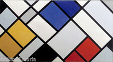 THEO VAN DOESBURG COUNTER COMPOSITION XVI ABSTRACT ART Giclée Print Fine Canvas