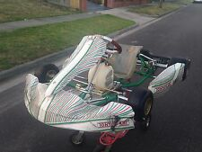2015 Tony Kart 401 Go Kart Can Sell With Rotax 125cc Evo Engine