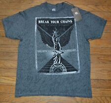 Rock & Republic Graphic Tee T-Shirt Break Your Chains Ride The Winds of Change