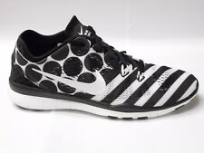 NIKE FREE 5.0 TR FIT 5 PRINT UK SIZE 5.5 6.5 WOMENS RUNNING SHOES BLACK TRAINERS