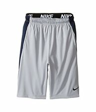 Nike Boys B NK DRY SHORT FLY, WOLF GREY/OBSIDIAN/BLACK/BLACK, XL