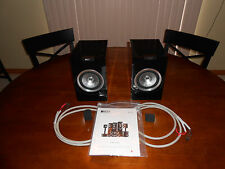 KEF R100 Bookshelf Speakers Includes Bi-Wire Cables
