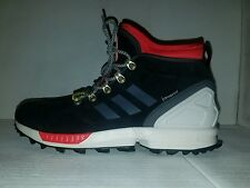 NEW MENS ADIDAS ORIGINALS ZX Flux Winter Shoes Boots Black White Red S82931