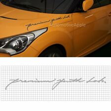 Slogan Decal Product Sticker 650mm For Hyundai Veloster