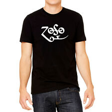 ZOSO Led Zeppelin Jimmy Page 100% Cotton Black Shirt