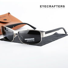 HD Polarized Sunglasses Mens Outdoor Driving Fishing Sports Aviator Sunglasses