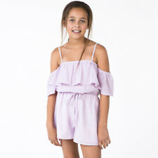 Mooloola Girls Villena Playsuit in Pink