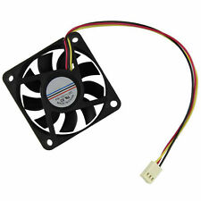 10x 50mm PC CPU Host Cooling Fan 12v 3 Pin Computer Case Cooler Quiet Connector