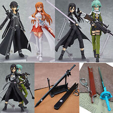 Anime Sword Art Online II PVC Action Figure Toy Collection Sinon Asuna Kirito 6""