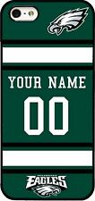 Custom PHILADELPHIA EAGLES Phone Case Cover w Your Name & Jersey Number IPhone