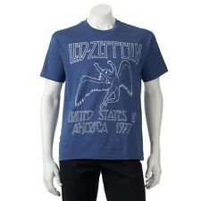 Led Zeppelin 1977 US TOUR T-Shirt NWT 100% Rock Band Music Authentic & Official