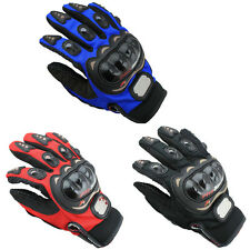 Motorbike Motocross Fiber Bike Racing Gloves Pro-Biker Motorcycle Full Finger