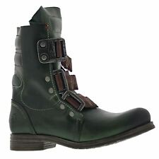Fly London Stif Green Womens Boots - P141941018