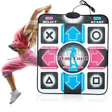 AU Non-Slip Dancing Step Dance Mat Pad Pads Dancer Blanket to PC with USB