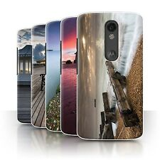 STUFF4 Phone Case/Back Cover for Motorola Moto X Force /English Seaside