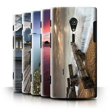 STUFF4 Phone Case/Back Cover for Sony Xperia ion LTE/LT28 /English Seaside