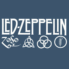Led Zeppelin IV Zoso Four Runes Symbols Houses Of the Holy Hoodie