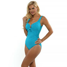 NWT $156 MIRACLESUIT 'SANDRA D' ONE PIECE UNDERWIRE SWIMSUIT, SIZE 16