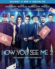 Now You See Me 2 (Blu-ray + DVD) Lenticular Slipcover, no Digital Copy
