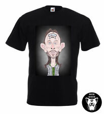 Radiohead Thom Yorke Caricature T-Shirt Alternative English Rock Daydreamer Art