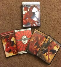 SPIDER-MAN Deluxe Edition 3DVD, SPIDER-MAN 2 Special Edition 2DVD, SPIDER-MAN 3