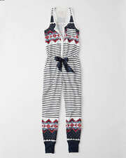 NWT ABERCROMBIE & FITCH COZY ONESIE - SIZE SMALL OR MEDIUM