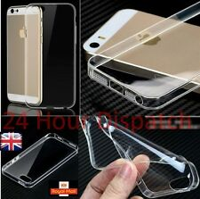 New Ultra Thin Silicone Gel Slim Rubber Soft Case For Iphone5/5s {lq530