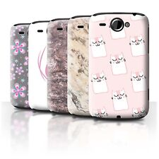 STUFF4 Back Case/Cover/Skin for HTC Wildfire/G8/Pink Fashion